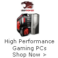 High Performance Gaming PCs