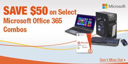 Save $50 on Select Microsoft Office 365 Combos