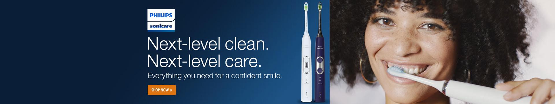 Next-level clean, next-level care