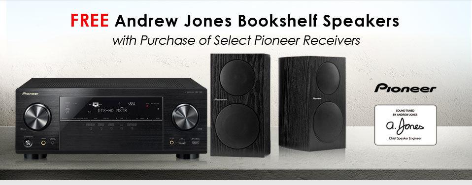 Newegg com - Free Andrew Jones Bookshelf Speakers with