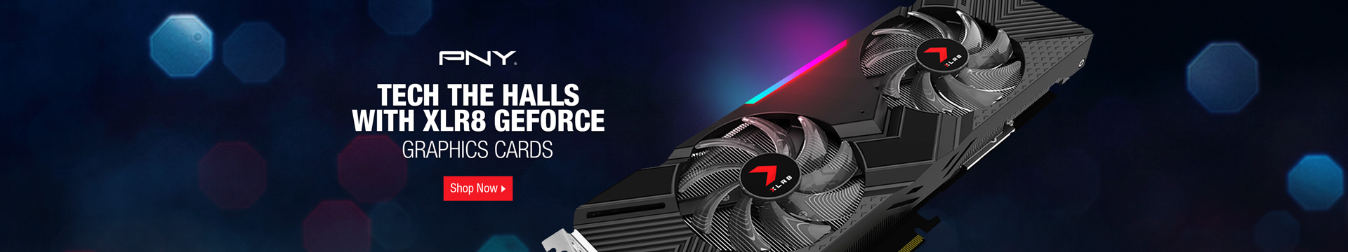Tech The Halls With XLR8 Geforce
