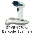 SAVE 40% on Barcode Scanners