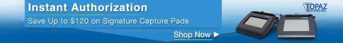 Save Up to $120 on Signature Capture Pads