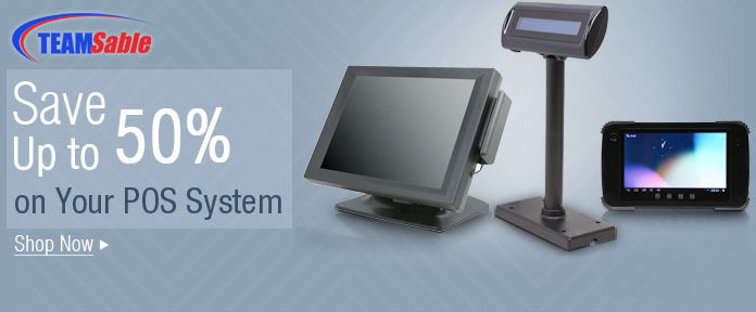 Save up to 50% on your POS system