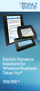 Electric Signature Solutions for Wherever Business Takes You®