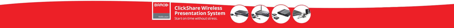 Click Share Wireless Presentation System