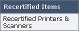 Recertified Printers & Scanners