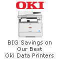 BIG Savings on Our Best Oki Data Printers