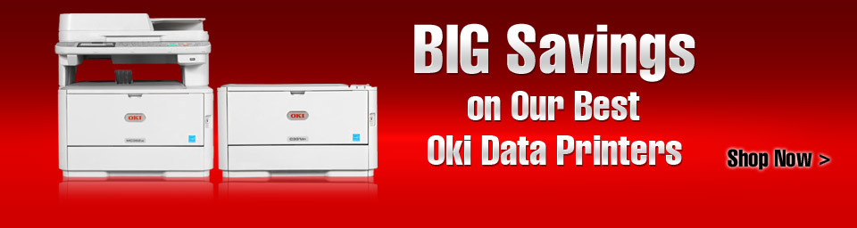 BIG Savings on Our Best Oki Data Printers