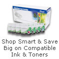 Shop smart & save big on compatible Ink & Towers