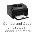 Combo and Save on Laptops,Toners and More