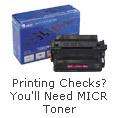 Printing Checks?