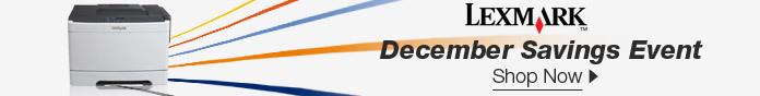 Lexmark December Savings Event