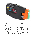 Amazing Deals on Ink and Toner