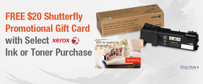 FREE $20 Shutterfly Promo Gift Card