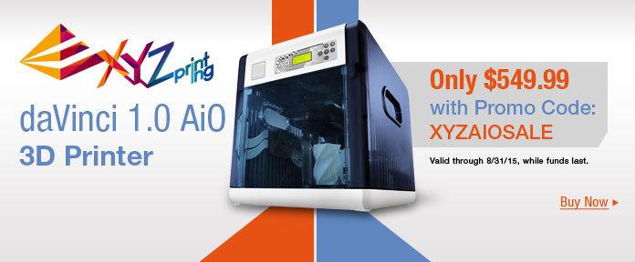 XYZprinting daVinci 1.0 AiO 3D Printer