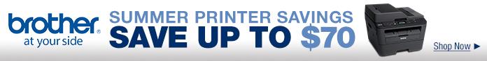 Summer Printer Savings