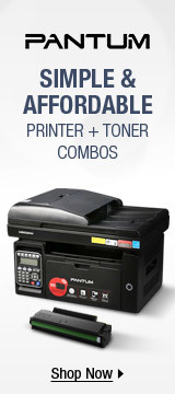 PANTUM: SIMPLE & AFFORDABLE PRINTER + TONER COMBOS