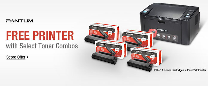 Free Printer with Select Toner Combos