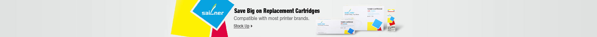 Save Big with Replacement Cartridges