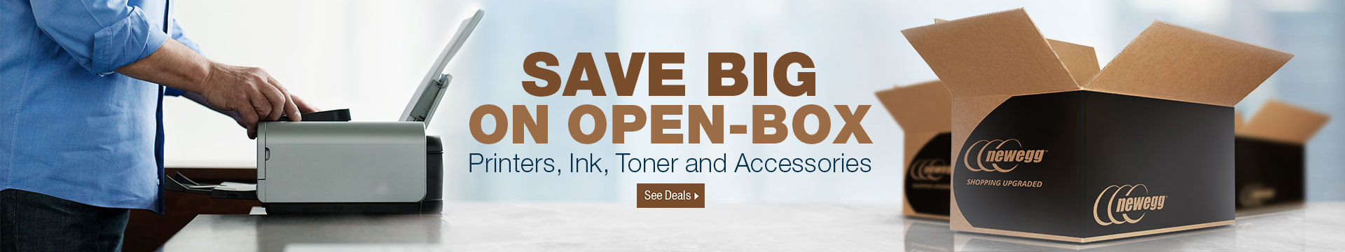 SAVE BIG ON OPEN-BOX