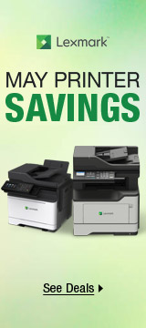 May printer savings