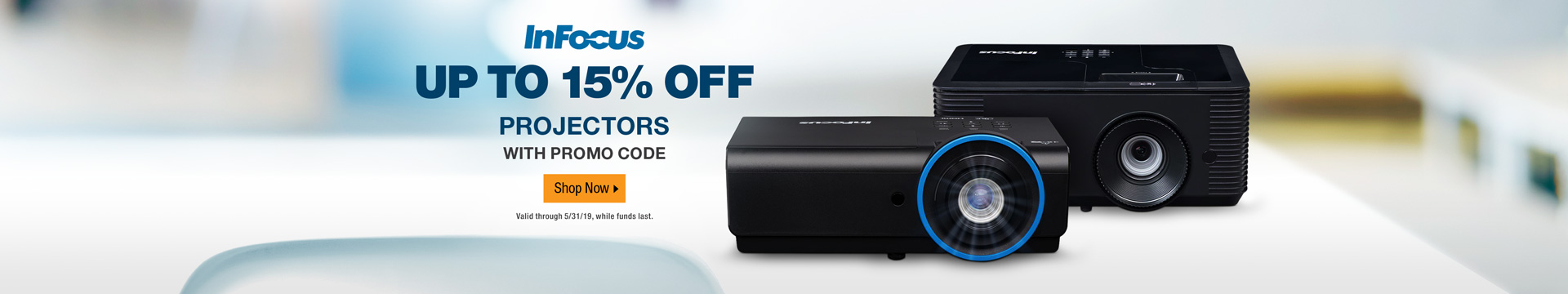 UP TO 15% OFF PROJECTORS