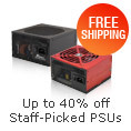 Up to 40% off Staff-Picked PSUs