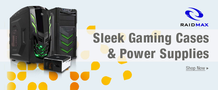 Sleek gaming cases & PSUs