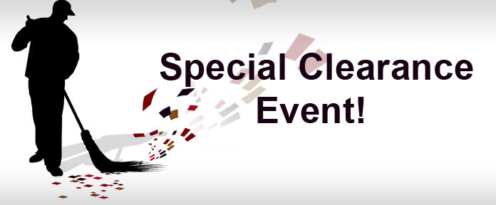 Special Clearance Event