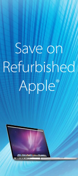 Save on refurbished Apple