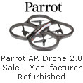 Parrot AR Drone 2.0 Sale- Manufacturer Refurbished