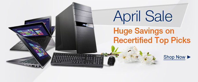 Huge Savings on Recertified Top Picks
