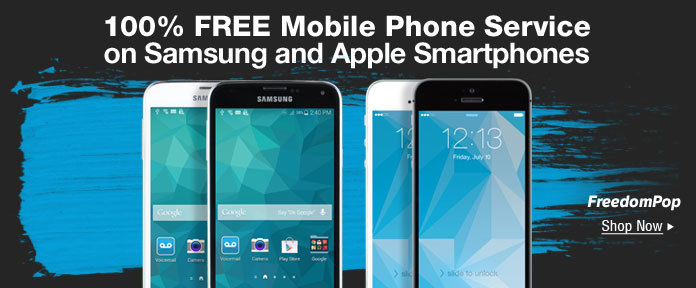 The World's First. 100% Free Mobile Phone Service