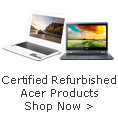 Certified Refurbished Acer Products