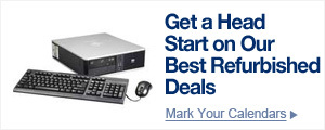 Get a head start on our best refurbished deals