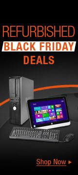 Refurbished black Friday deals