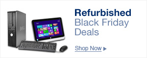 Refurbished black Friday deals
