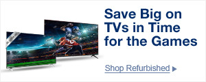Save Big on TVs in Time for the Games