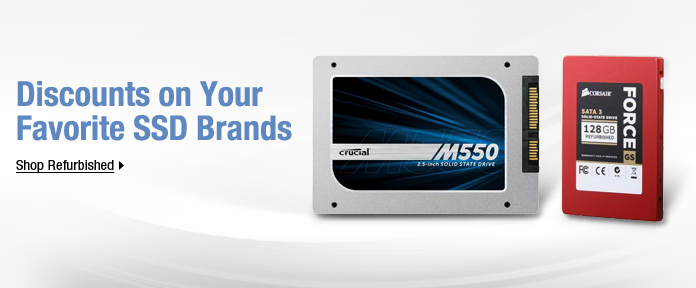 Discounts on Your Favorite SSD Brands