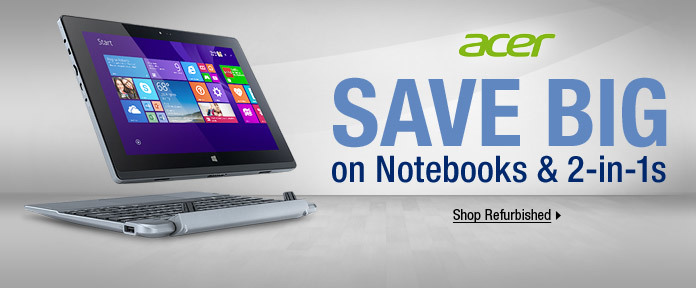 SAVE BIG on Notebooks & 2-in-1s