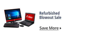 Refurbished Blowout Sale