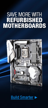 Save more with refurbished motherboards
