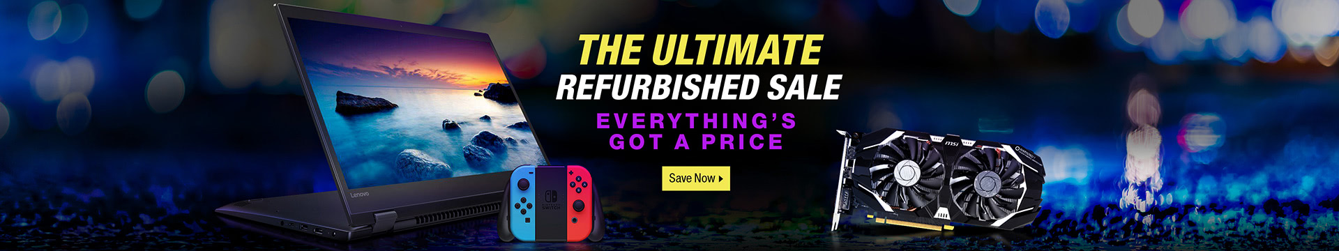 THE ULTIMATE REGURBISHED SALE
