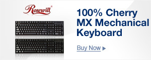 100% Cherry MX Mechanical Keyboard