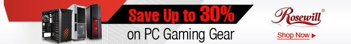 Save up to 30% on PC gaming gear