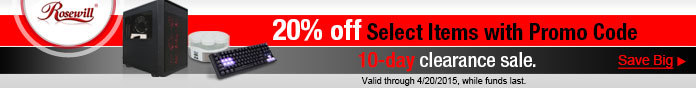 10-day clearance sale