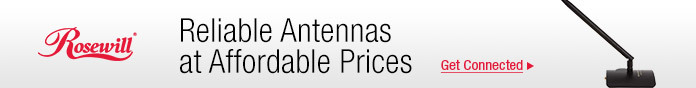 Reliable antennas at affordable prices