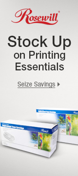Stock Up On Printing Essentials