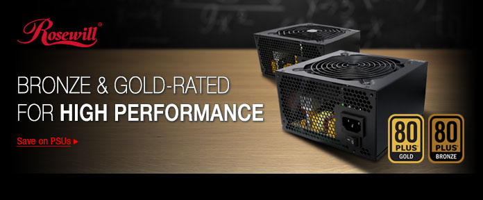 Bronze & Gold-rated for high performance